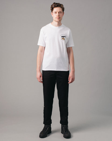 Crow's Bakery Tee White