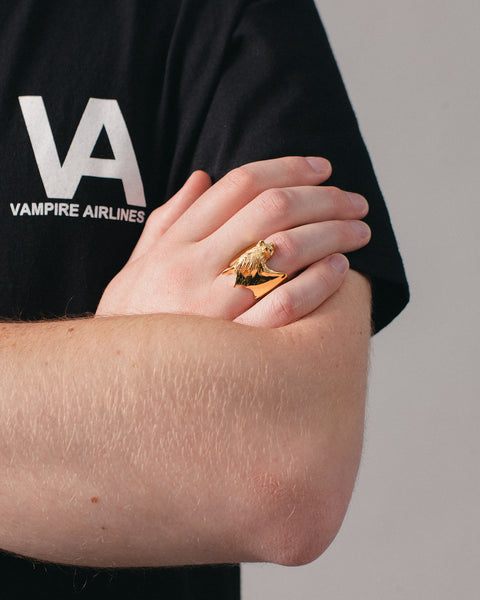 Bat Ring Gold