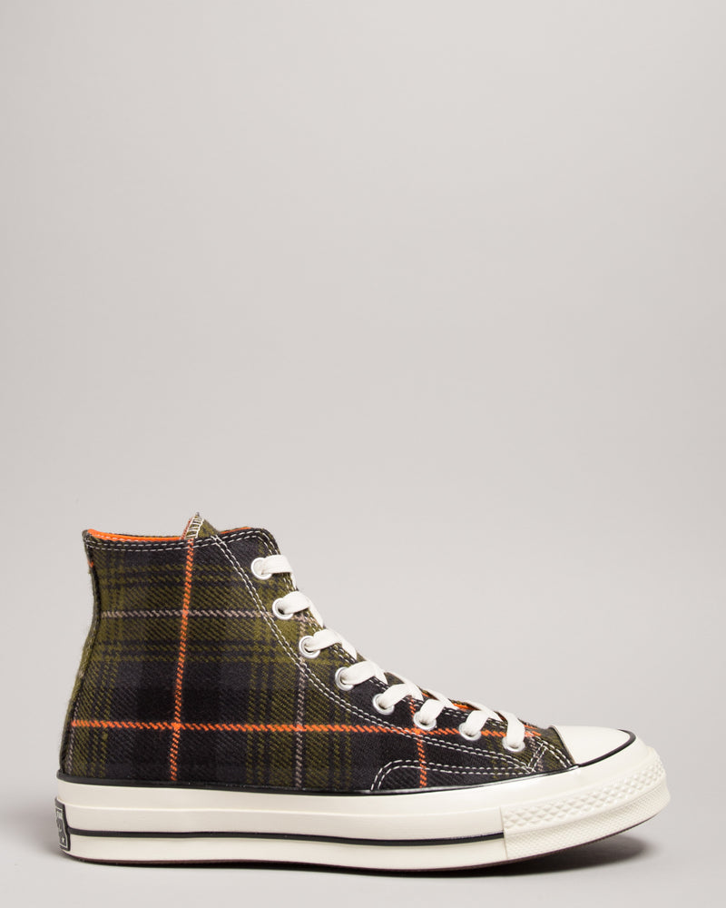Chuck 70 HI Medium Olive/Campfire Orange