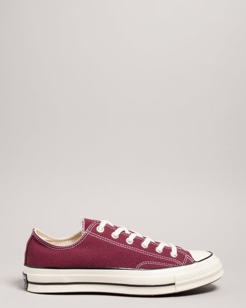Chuck 70 OX Dark Burgundy/Black/Egret 1