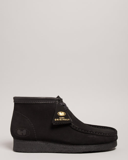 Wu-Tang Wallabee Black Suede 1