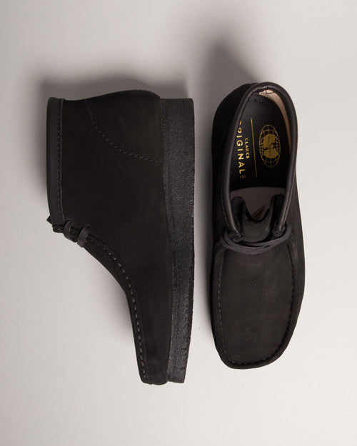 Wu-Tang Wallabee Black Suede 2