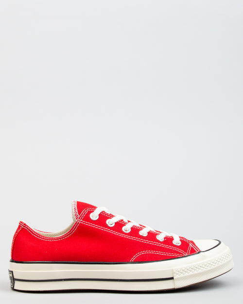 Chuck 70 OX Enamel Red/Egret/Black 1