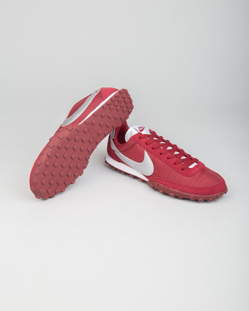 Waffle Racer Team Red/Metallic Silver/White 2