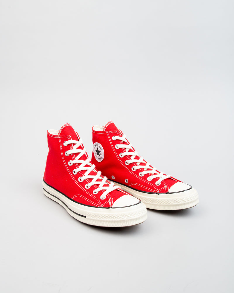 Chuck 70 HI Enamel Red/Egret/Black