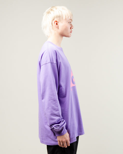 NRG ACG Logo LS Tee Space Purple/Lotus Pink 2