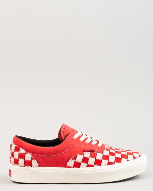 ComfyCush Era LX Racing Red/Marshmallow Checkerboard 1