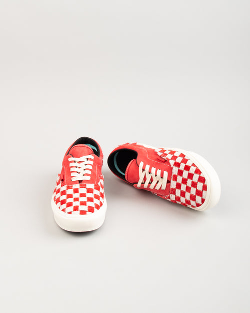 ComfyCush Era LX Racing Red/Marshmallow Checkerboard 2