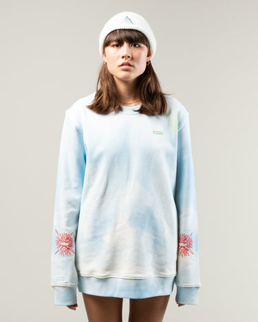 Cosmic Workshop Sweater Blue 2