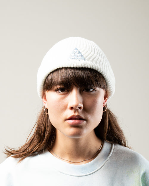 NSW ACG Beanie Summit White/Aviator Grey 2