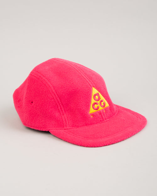 ACG NRG Fleece Cap Rush Pink/Optical Yellow 2