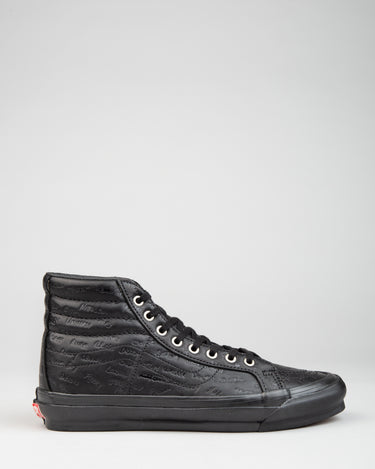 Jim Goldberg Sk8-Hi LX Black Leather 1