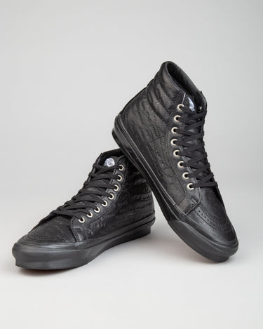 Jim Goldberg Sk8-Hi LX Black Leather 2