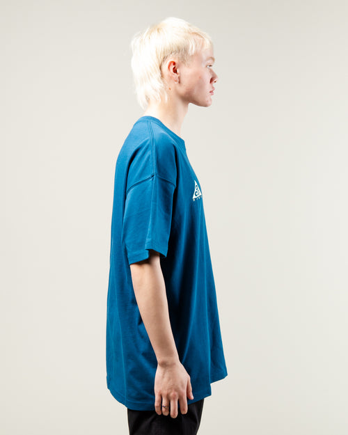 NRG ACG Logo SS Tee Blue Force/Barely Volt 2
