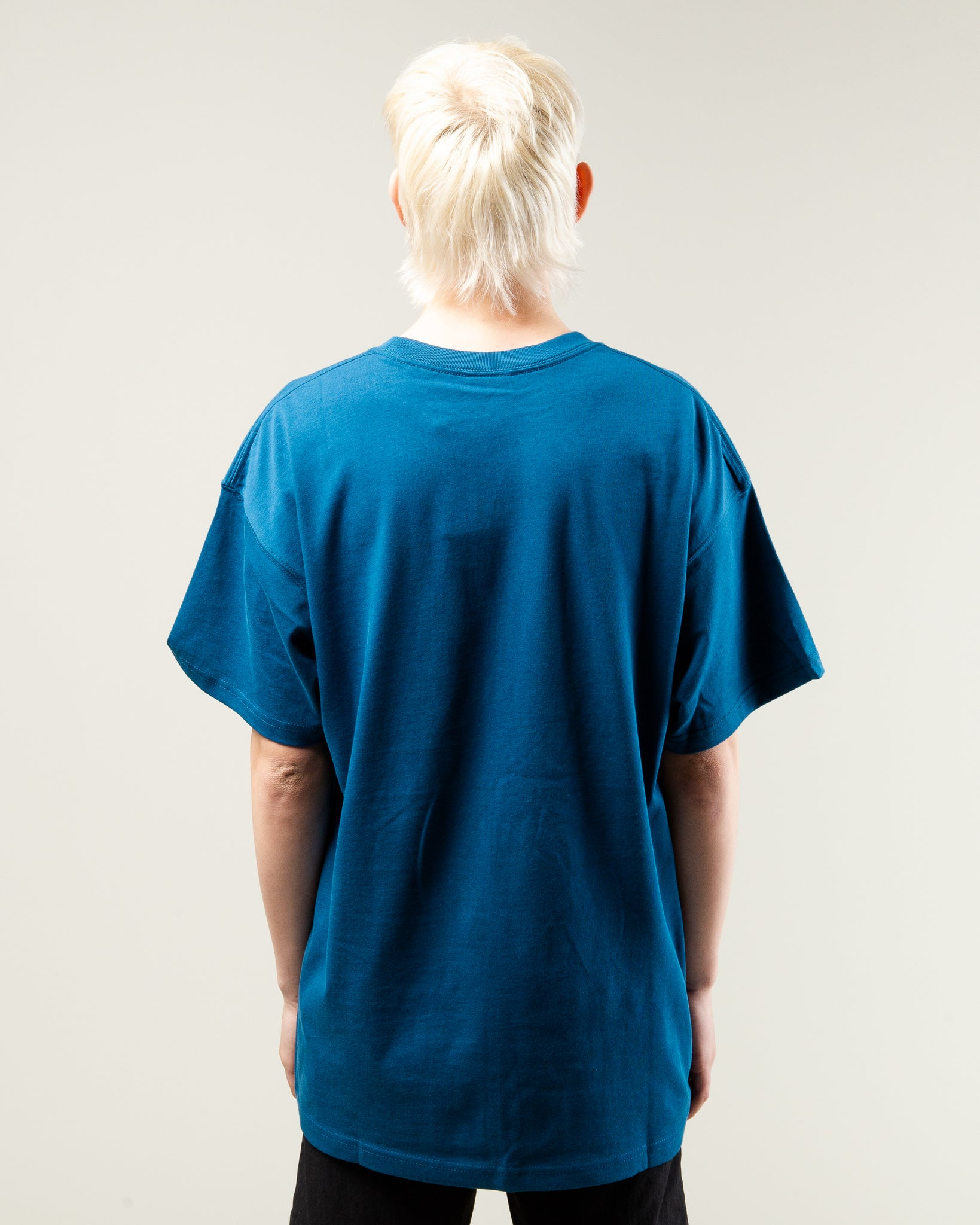 NRG ACG Logo SS Tee Blue Force/Barely Volt