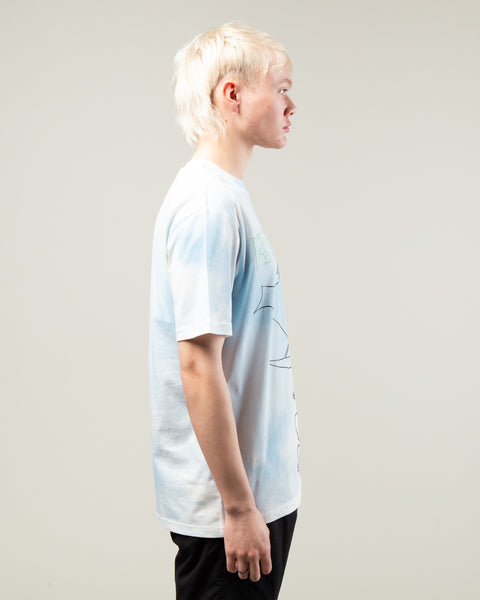 Cosmic Workshop Tee Blue