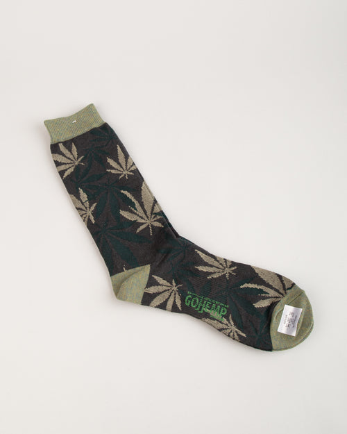 GO HEMP Pattern Crew Sock 2