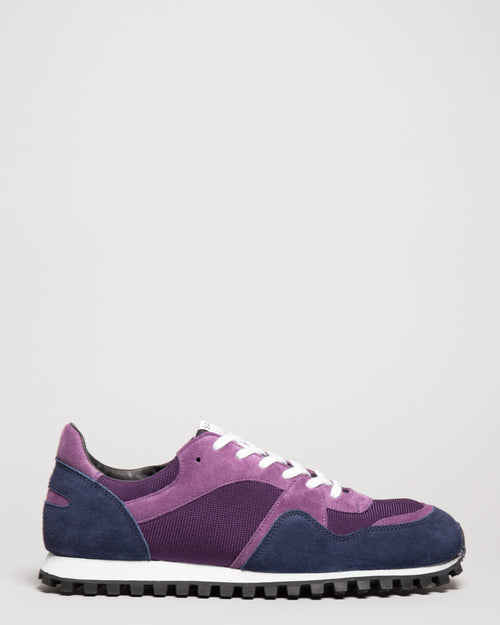 Marathon Trail Low Mesh Plum 1