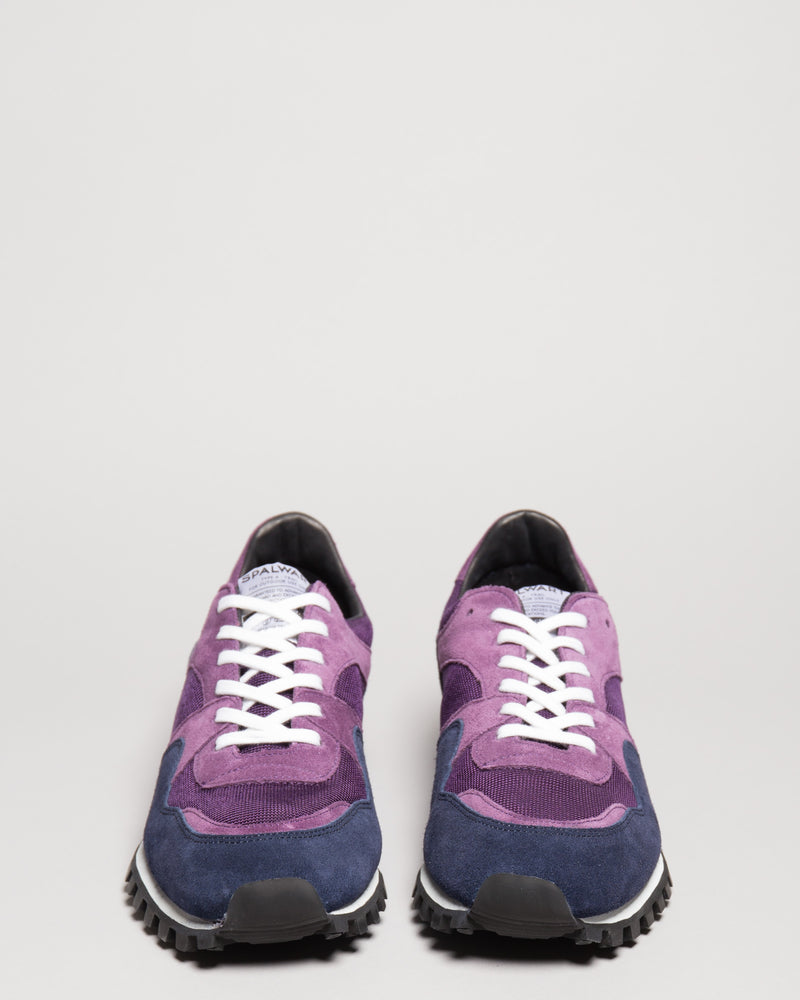Marathon Trail Low Mesh Plum