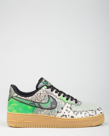 Air Force 1 '07 Black/Black/Spark Green 1