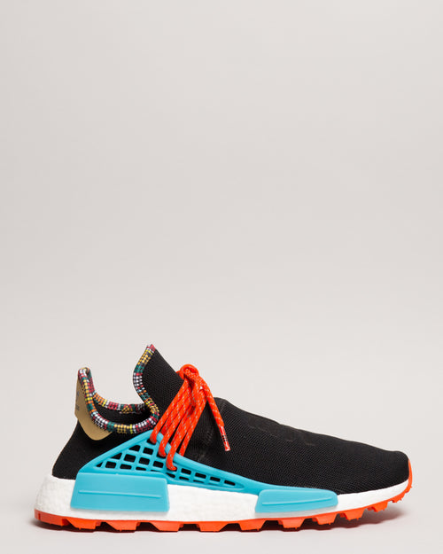 Pharrell Williams HU NMD Core Black/Clear Blue 1