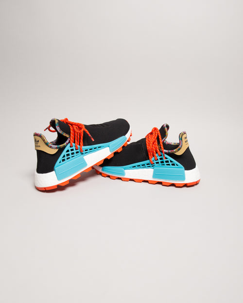 Pharrell Williams HU NMD Core Black/Clear Blue 2