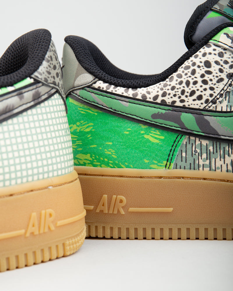 Air Force 1 '07 Black/Black/Spark Green