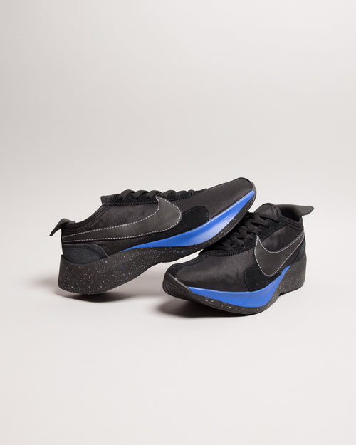 Moon Racer QS Black/Black/White/Racer Blue 2