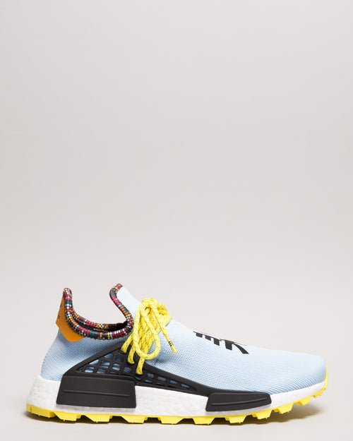 Pharrell Williams HU NMD Clear Sky/Bright Yellow/Black 1