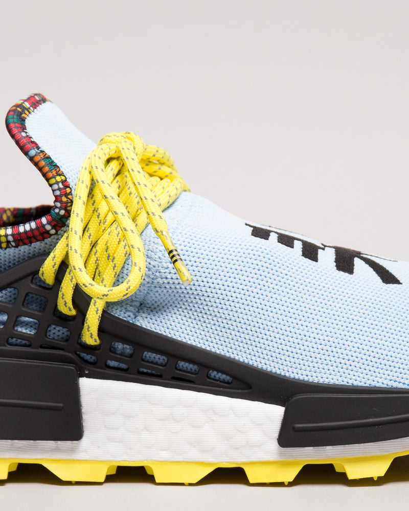 Pharrell Williams HU NMD Clear Sky/Bright Yellow/Black