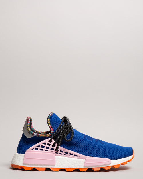 Pharrell Williams HU NMD Power Blue 1