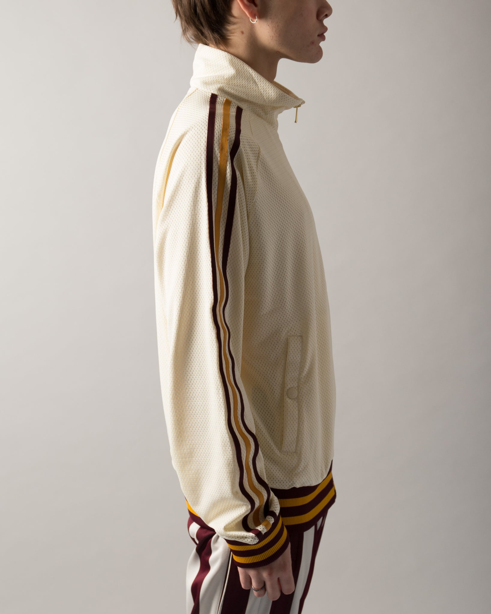 Eric Emanuel Warm Up Track Top White