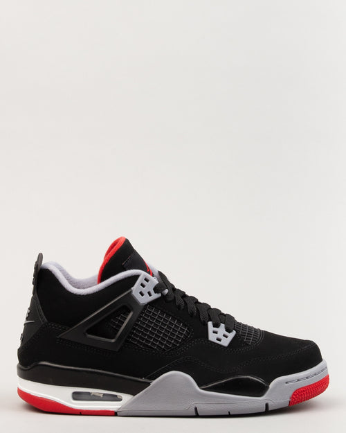 Air Jordan IV Retro (GS) Black/Fire Red/Cement Grey 1