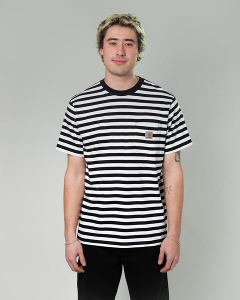SS Scotty Pocket T-Shirt Black