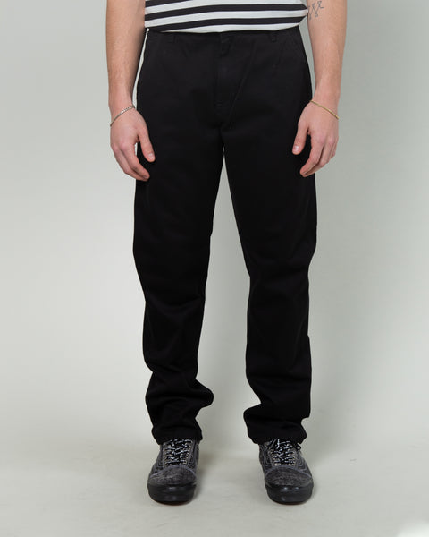Ruck Single Knee Pant Black