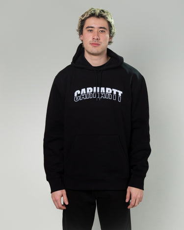 Hooded District Sweatshirt Black 1