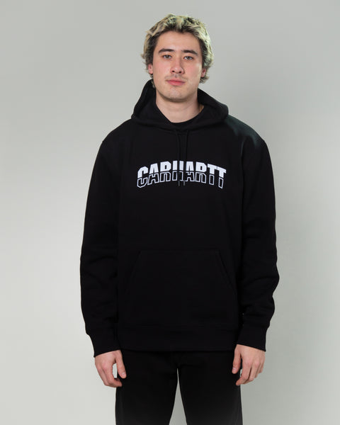 Hooded District Sweatshirt Black