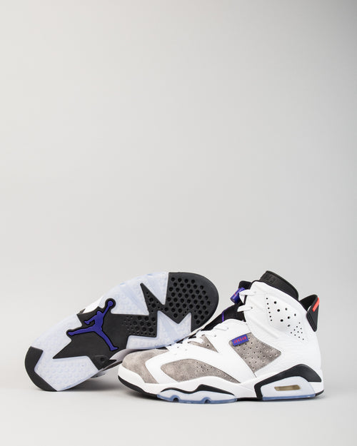 Air Jordan 6 Retro White/Dark Concord/Black 2