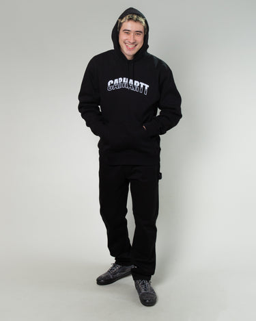 Hooded District Sweatshirt Black 2
