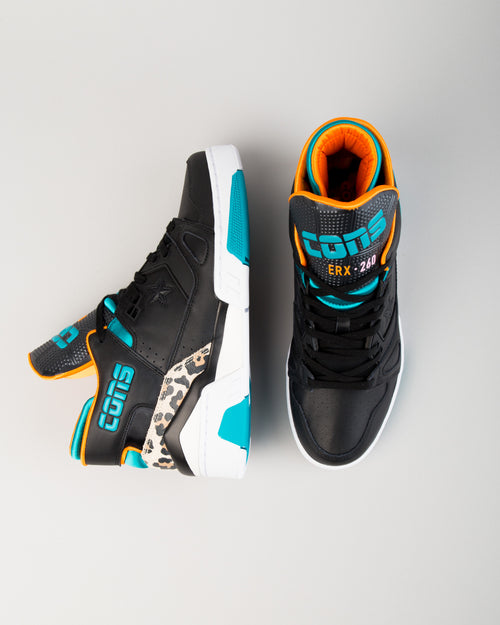 ERX 260 Mid Black/Rapid Teal/Orange Rind 1