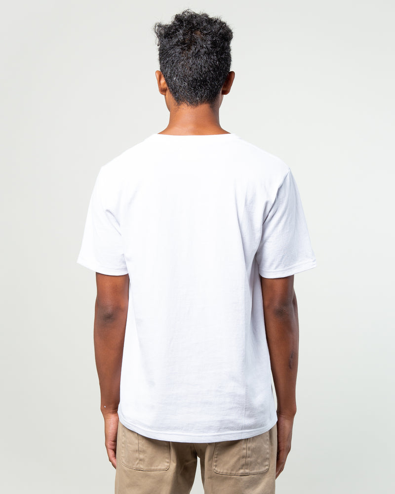 Oversize Crewneck Pocket T-Shirt (Type-1) White