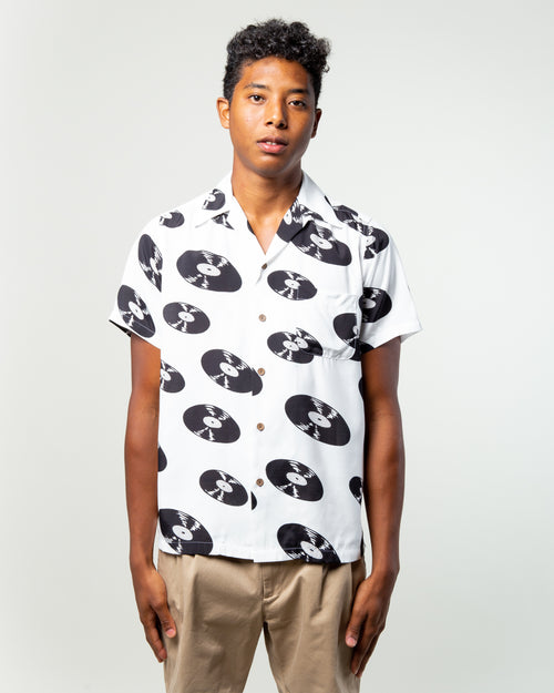 SS Hawaiian Shirt (Type-5) White 1