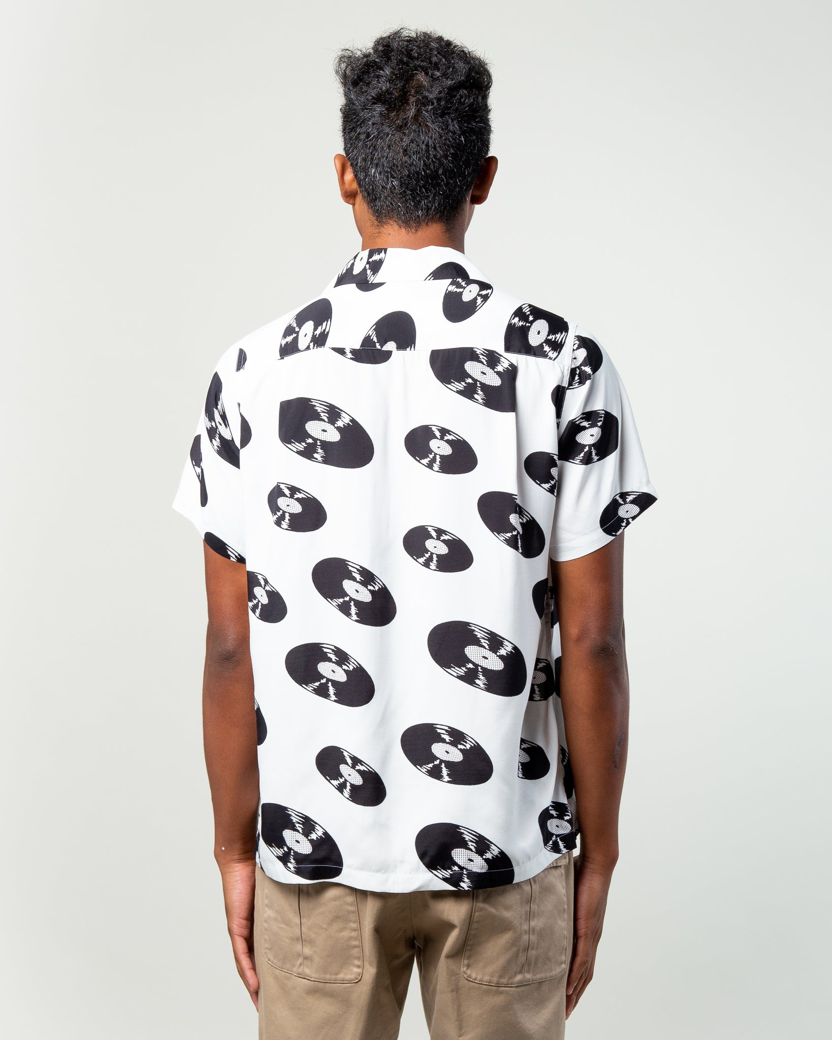 SS Hawaiian Shirt (Type-5) White