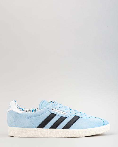 HAGT Gazelle Super Clear Blue/Core Black/Chalk White 1
