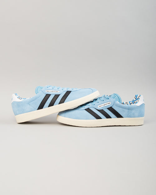 HAGT Gazelle Super Clear Blue/Core Black/Chalk White 2