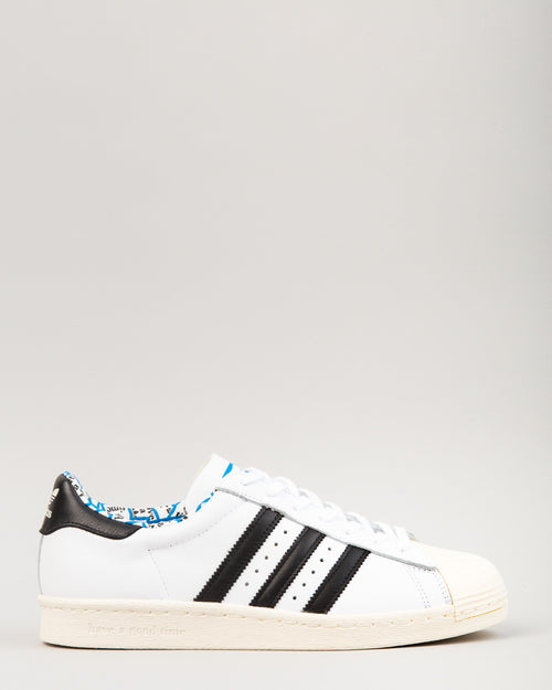 HAGT Superstar 80s White/Black/White 1