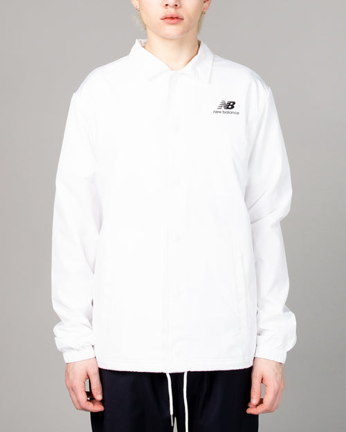 Stacked Coaches Jacket White 1
