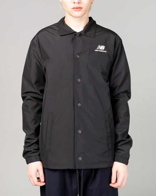 Stacked Coaches Jacket Black 1