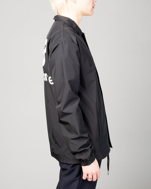 Stacked Coaches Jacket Black 2