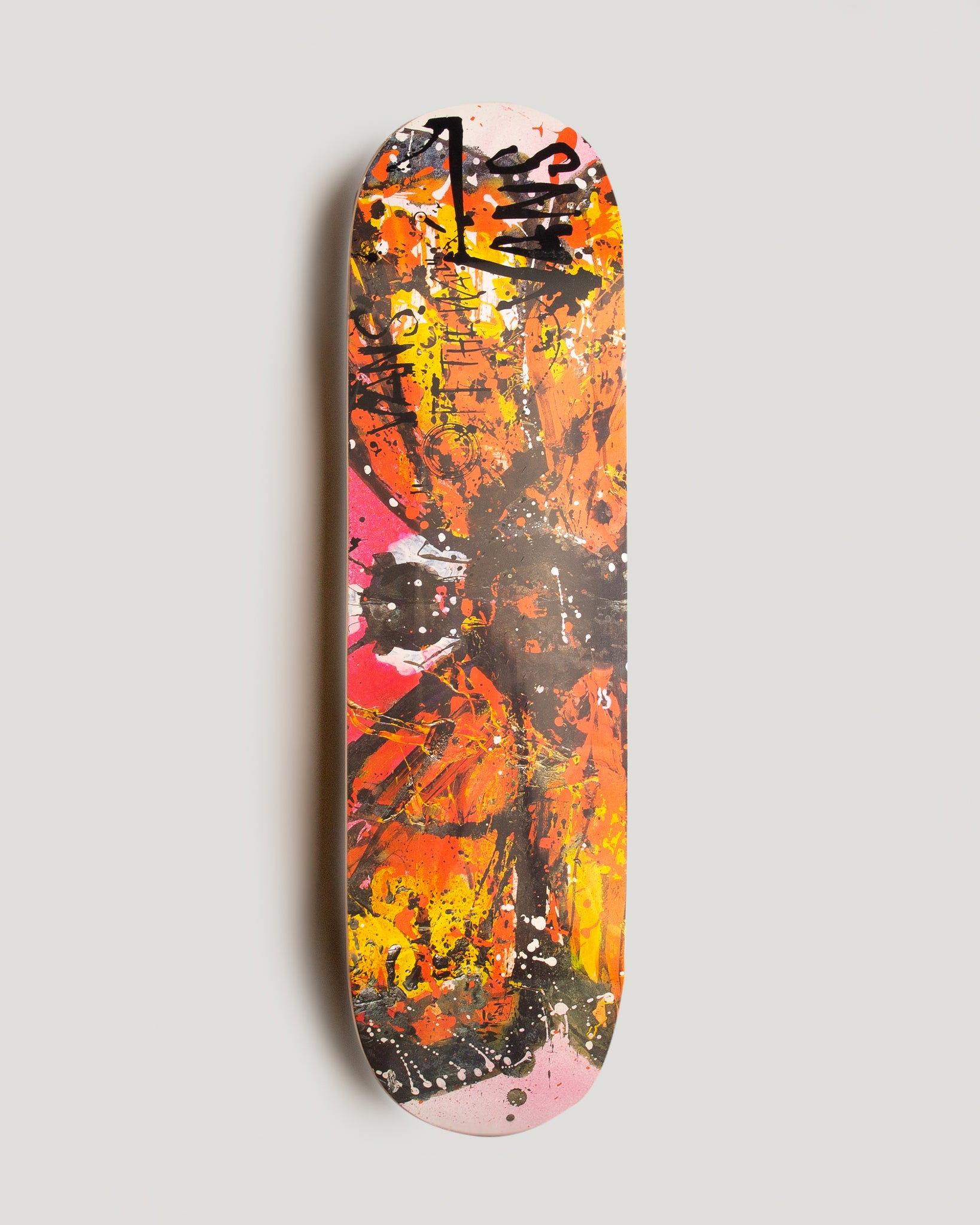 Ralph Steadman Skate Deck Monarch Butterfly